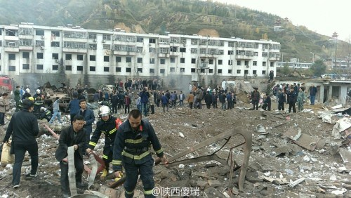 Reports on Shaanxi Explosion Disappear Online, in Media