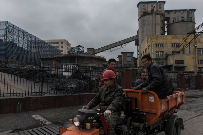 China Pushes to Dig More Coal