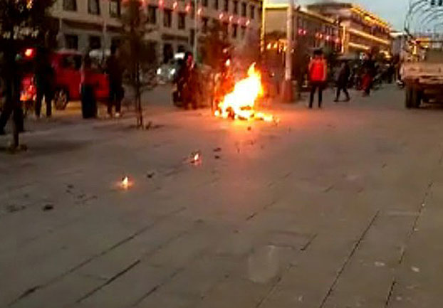 Tibetan Father of Three Self-Immolates in Gansu