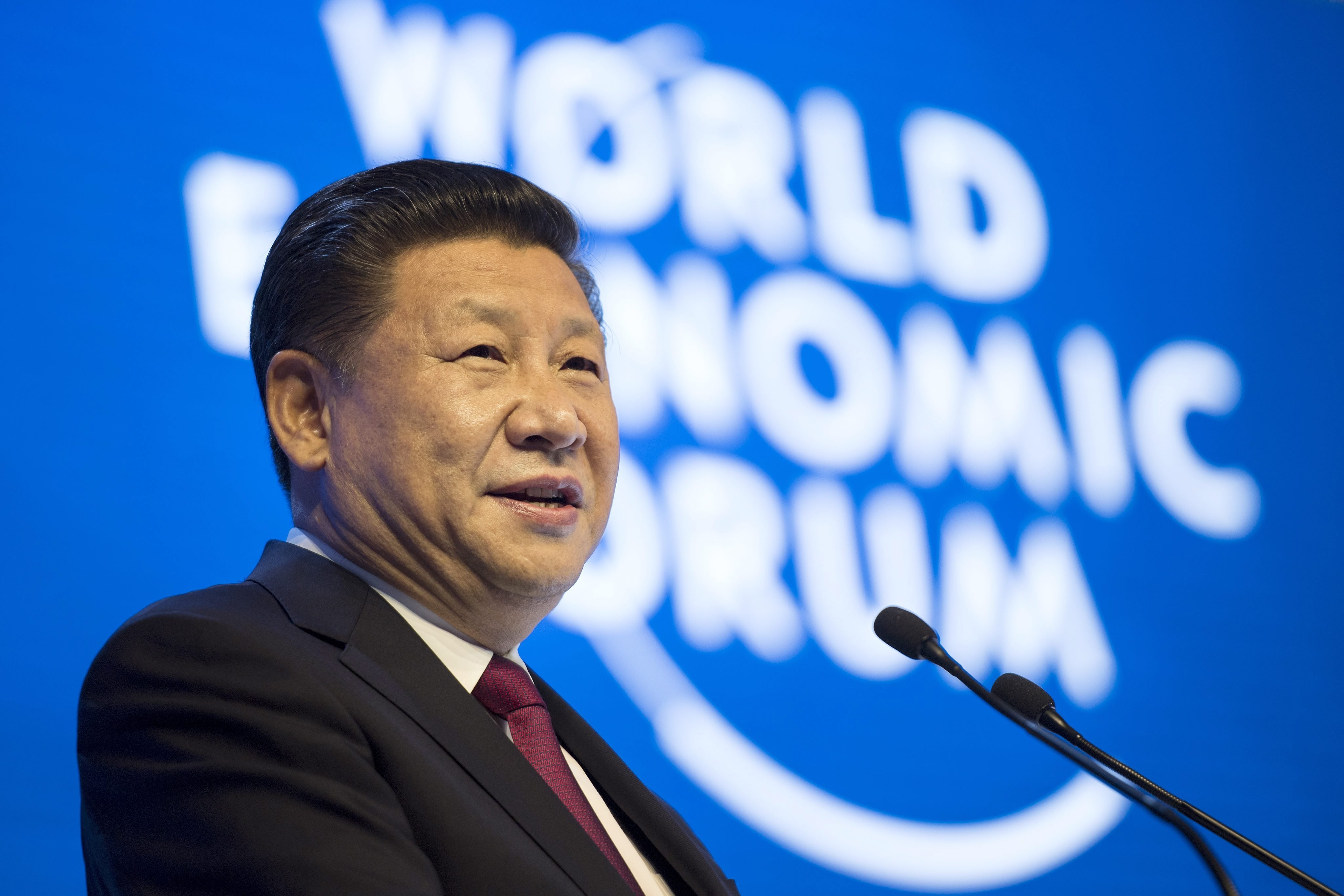 In Davos Xi Defends Free Trade, Paris Climate Accord