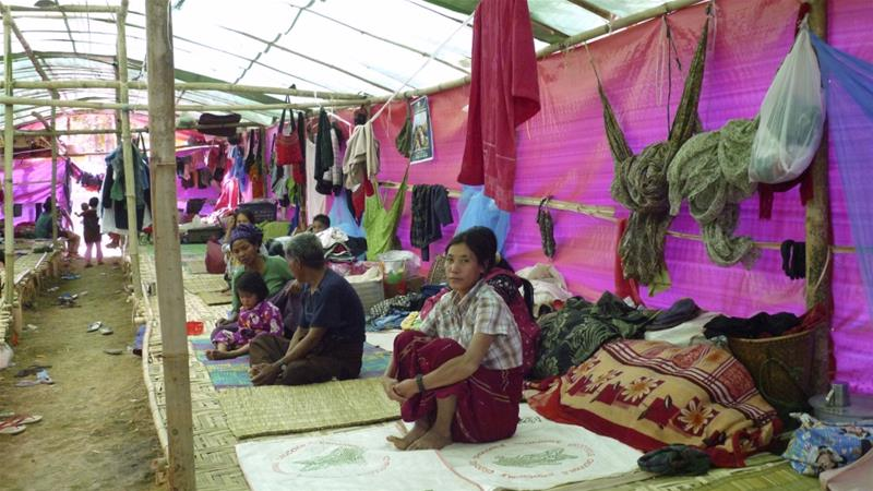 Burmese 'Stopped From Seeking Shelter' in China