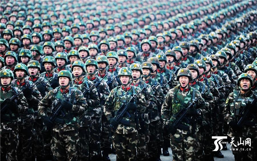 Military Rallies in Xinjiang Ahead of Top Party Meetings