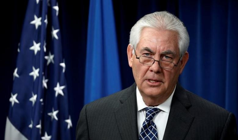 Sec. Tillerson Pressed to Talk Human Rights on Asia Trip
