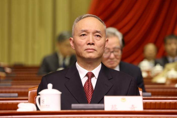 Xi Ally Cai Qi Promoted Ahead of Leadership Transition