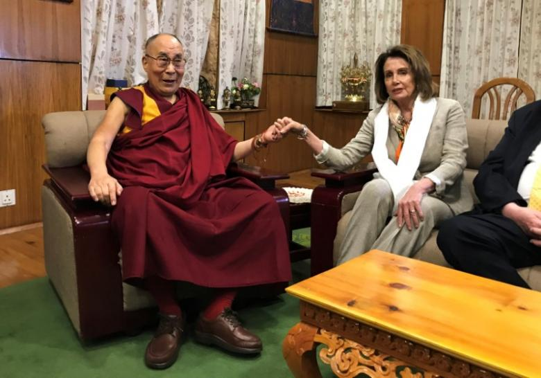 China Complains Over U.S. Lawmakers' Dalai Lama Visit