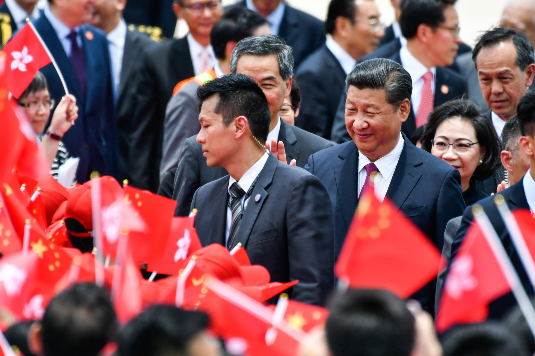 "Xi: Challenges to Beijing in HK ""Absolutely Impermissible"""