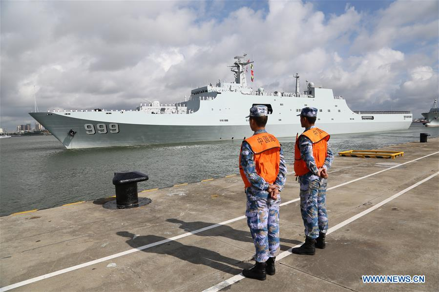 Troops Head to China's First Overseas Military Base