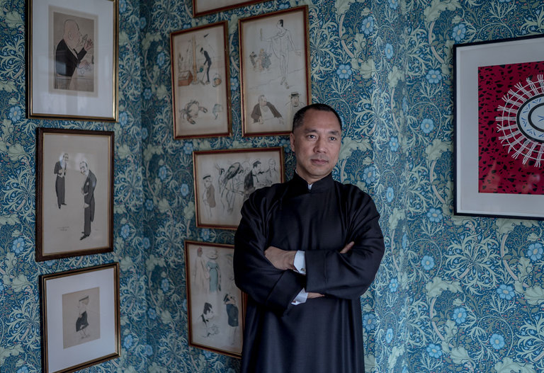 Guo Wengui Demands Rule of Law, Press Freedom, More