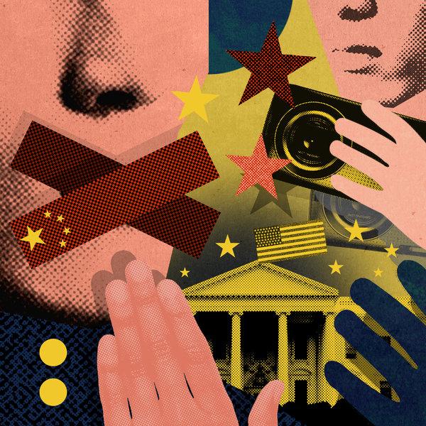 Beijing Hinders Free Speech Abroad
