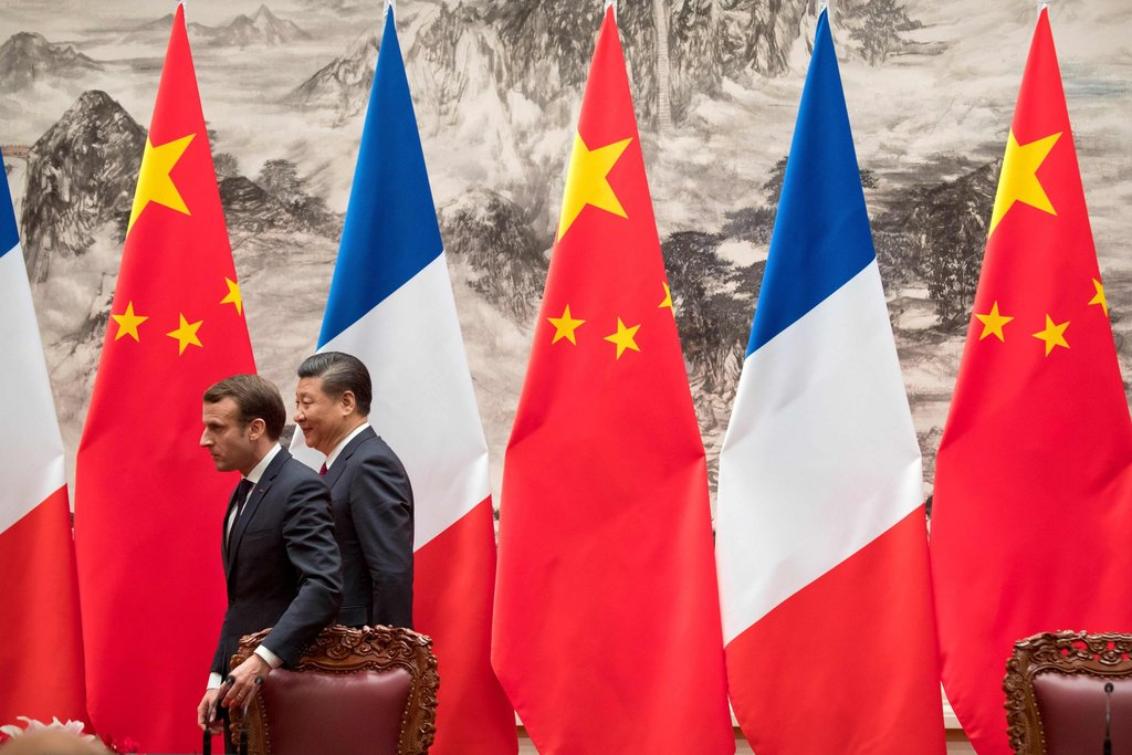 In China, Macron Offers a Vision to Counter Trump