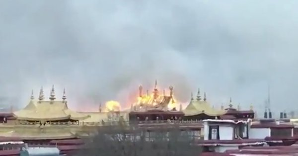 """Almost Total Suppression of Information"" After Tibet Fire"