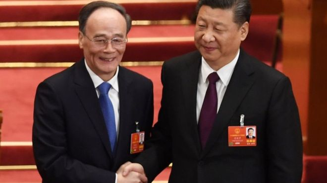 Wang Qishan Returns as Vice President