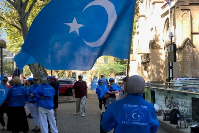Uyghurs Abroad Protest Xinjiang Crackdown