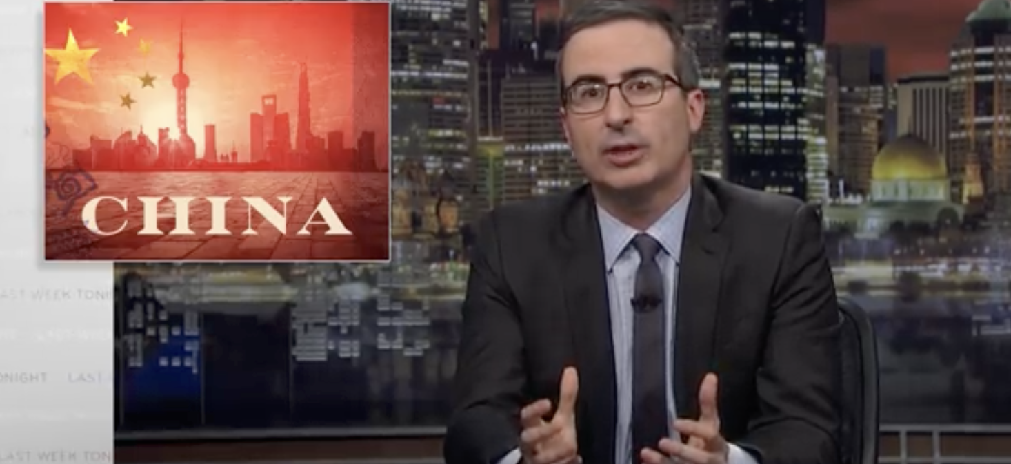 """John Oliver"" Censored After Roast of Xi Jinping"