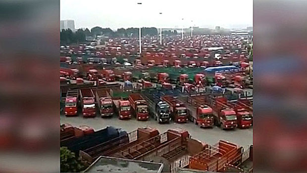Minitrue: Delete News on Truck Drivers' Strike