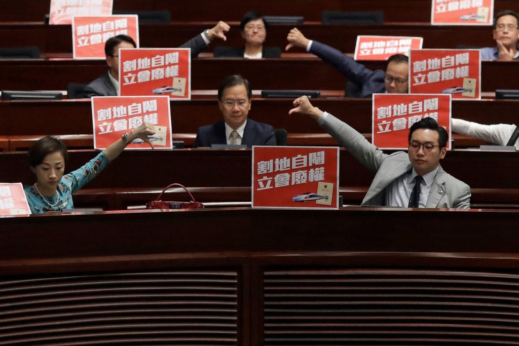 Train Station Raises Concerns About HK Autonomy