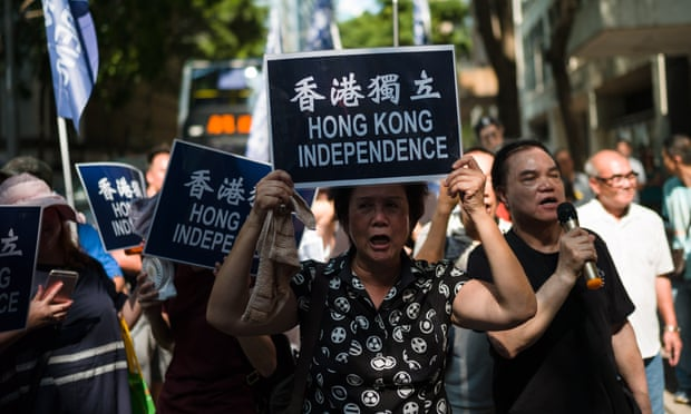 Hong Kong Bans Pro-independence Party
