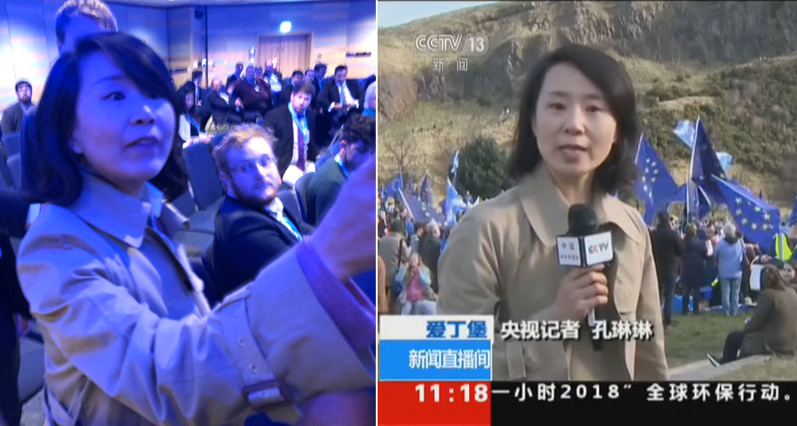 UK-Based CCTV Reporter Accused of Assault Released
