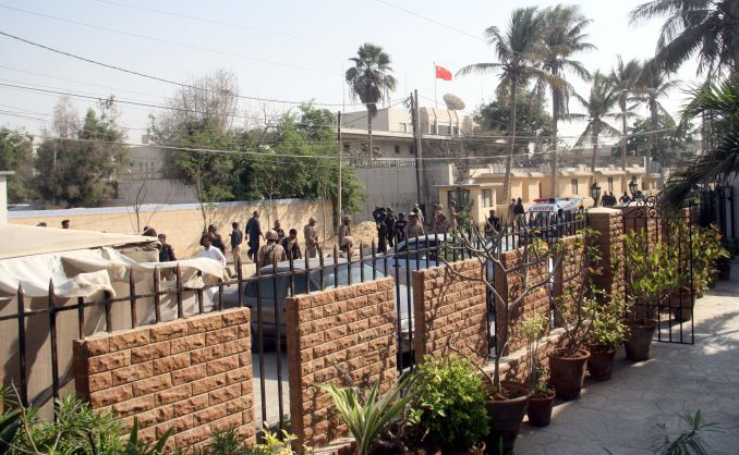 7 Dead in Attack on Chinese Consulate in Karachi