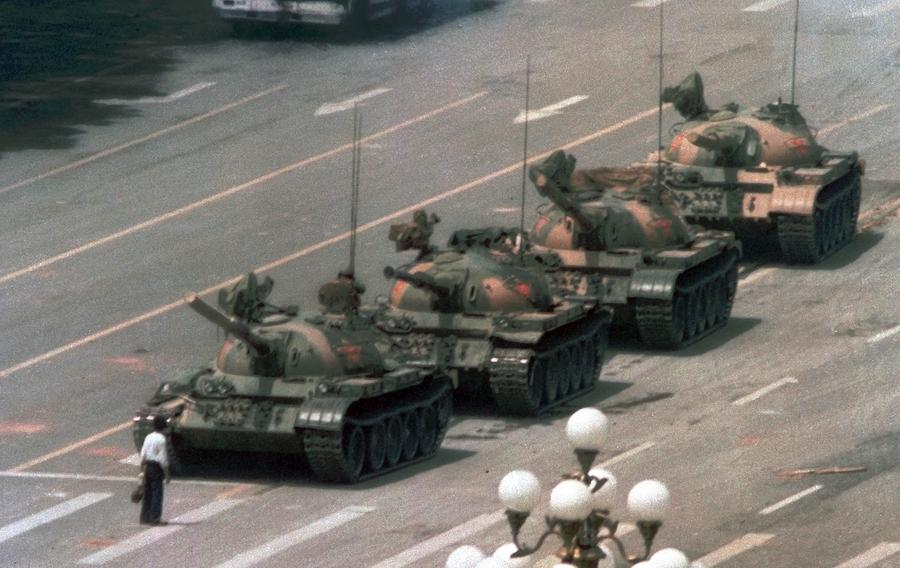 30 Years Ago: Lone Man Confronts Tanks