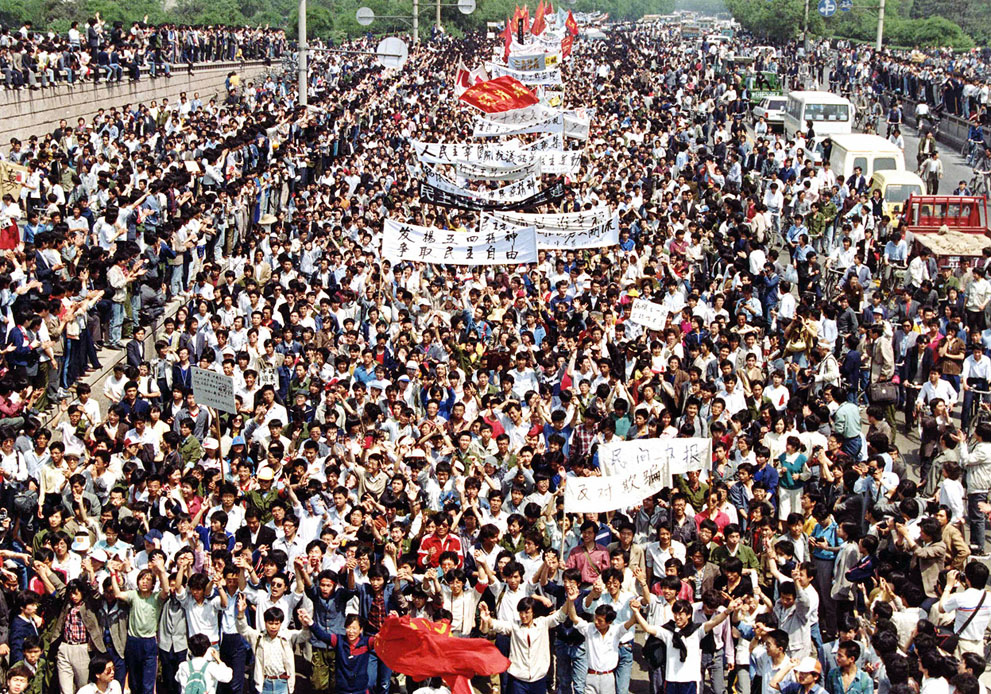 30 Years Ago: 6,000 Shanghai Students March