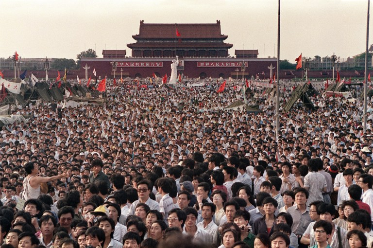 30 Years Ago: 150,000 March in Beijing