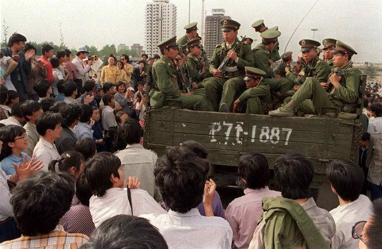 30 Years Ago: Troops Sent to Beijing