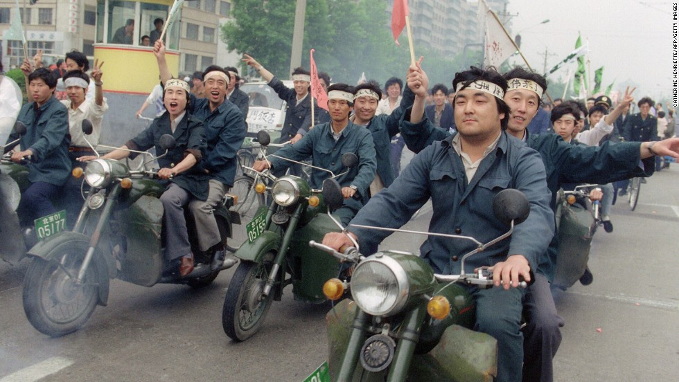 30 Years Ago: Workers Join Students In Beijing