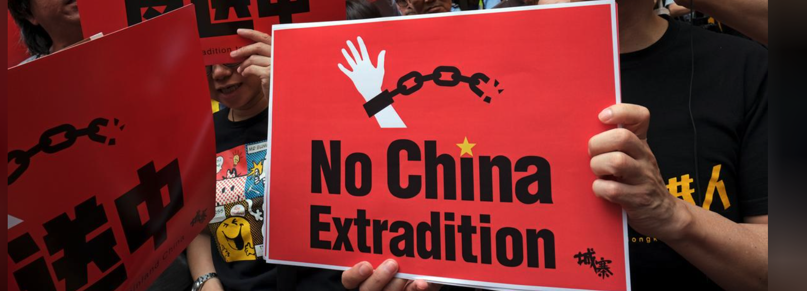 Tens of Thousands Protest New Extradition Rules in HK
