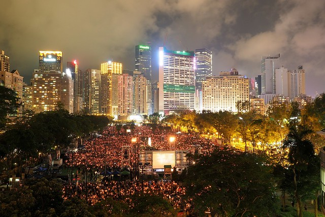 Massive Protests Against HK Extradition Law