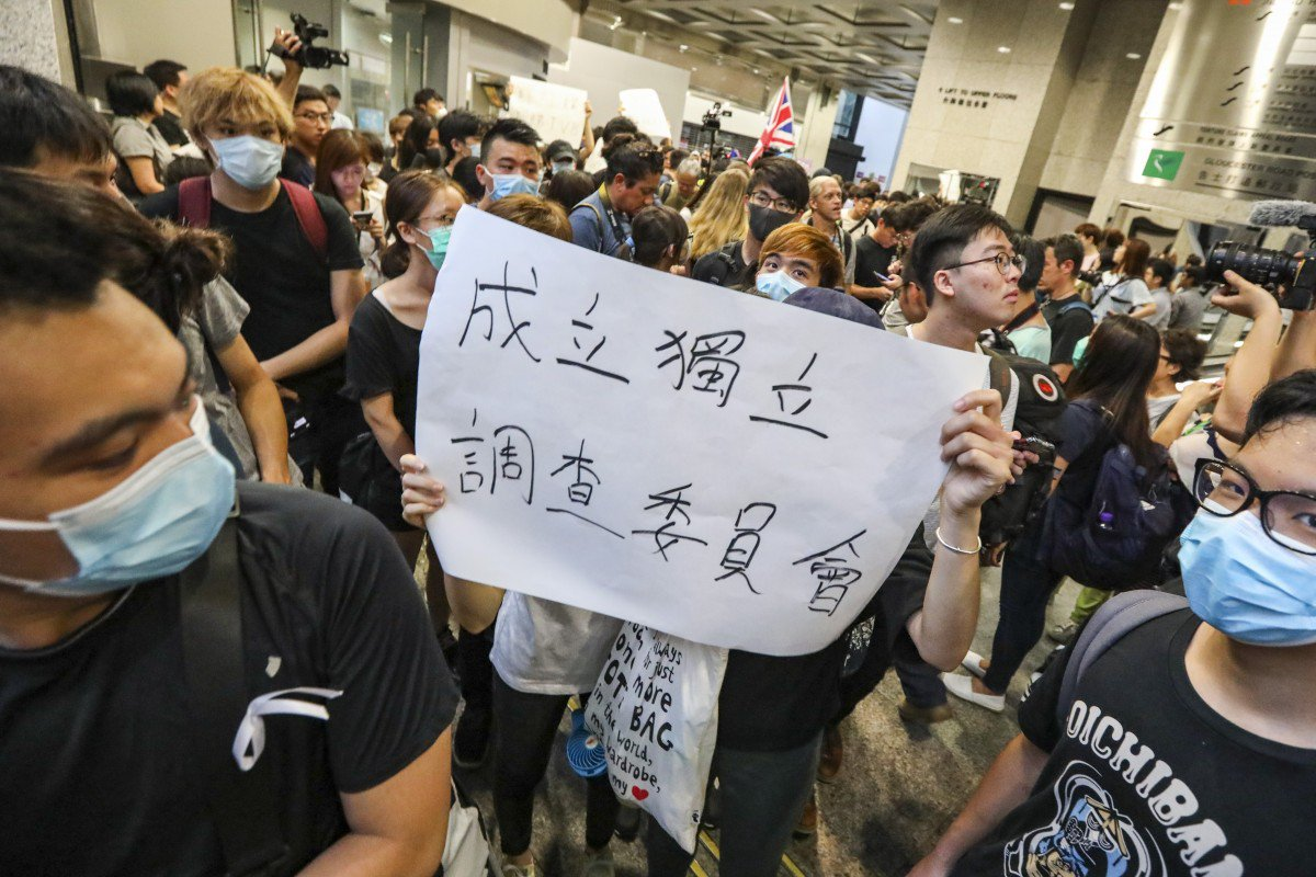 Hong Kong Protesters Try to Rally Support from G20
