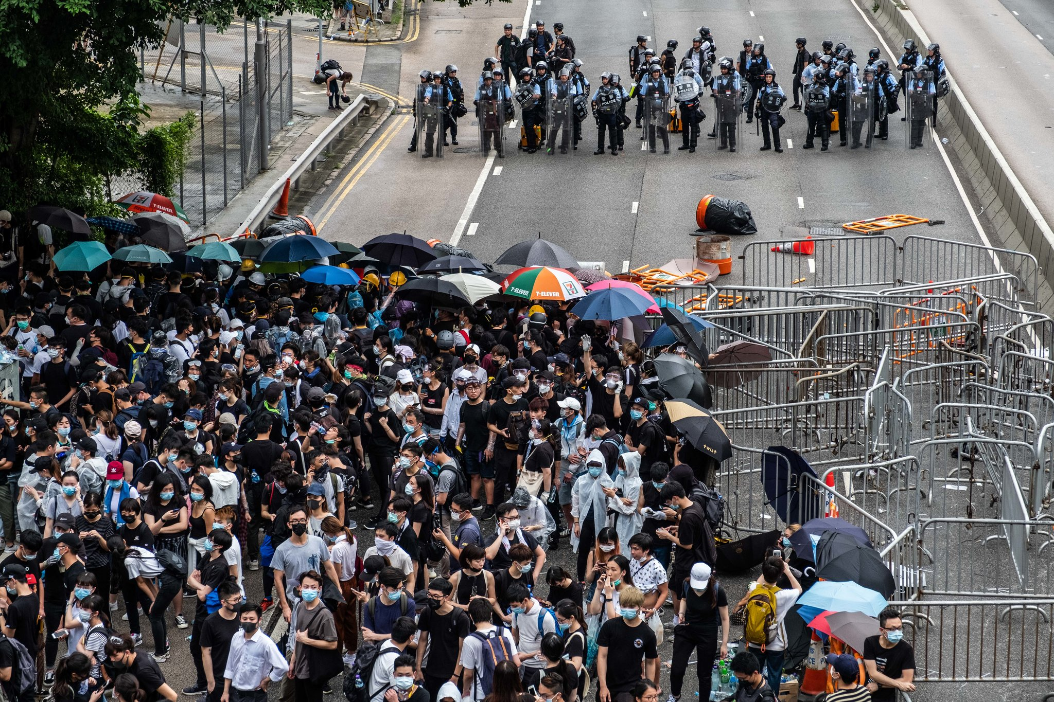 Violence Erupts in HK as LegCo Delays Debate