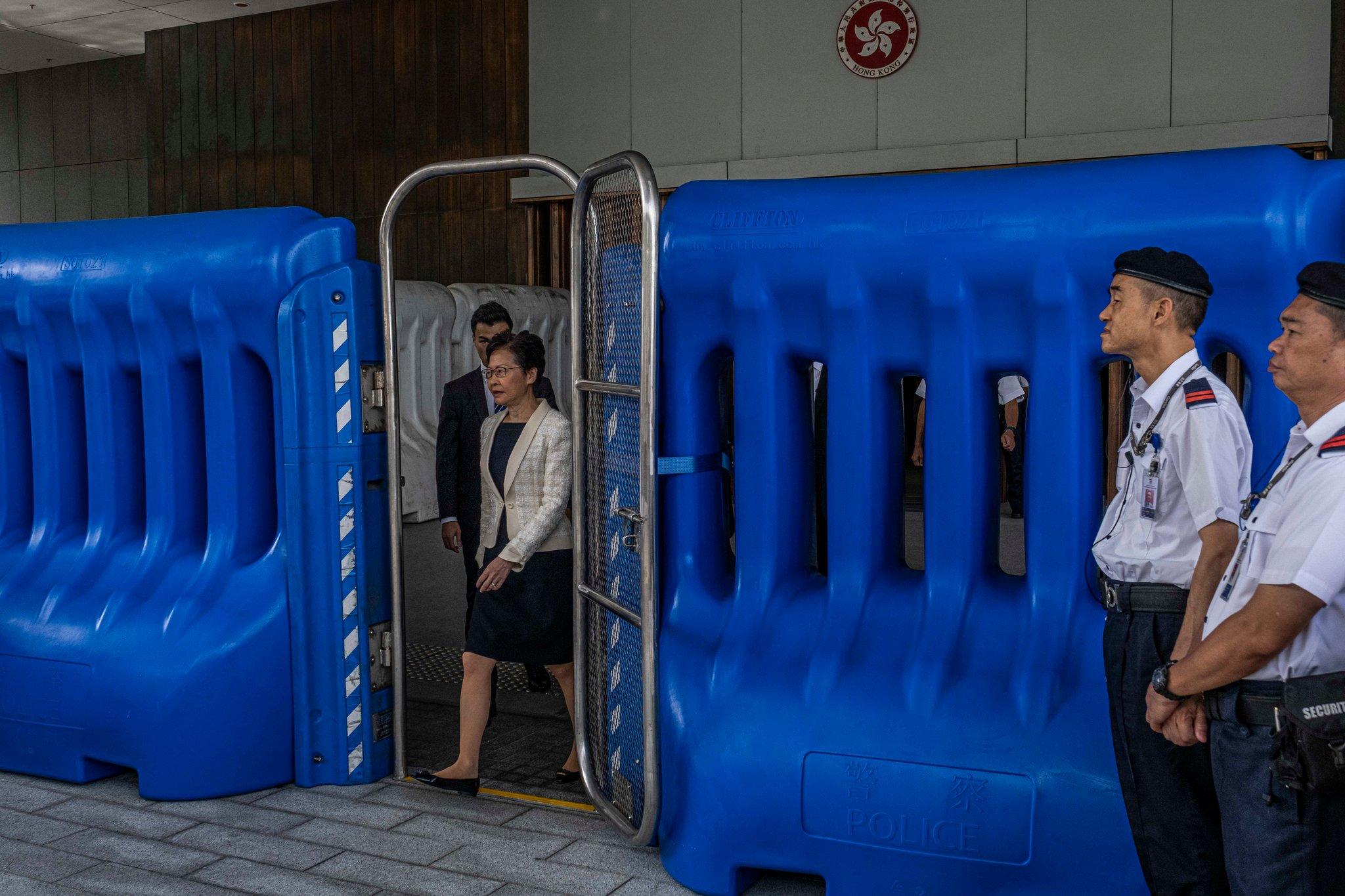 Leak Shows Beijing's Tight Rein on Hong Kong Crisis