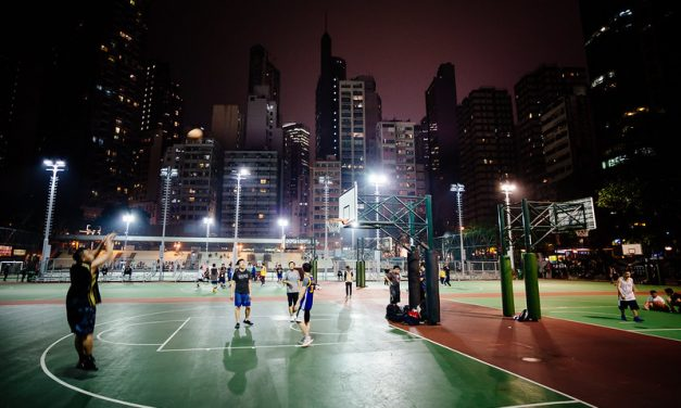 Photo: Basketball [Hong Kong], by Robert Anders