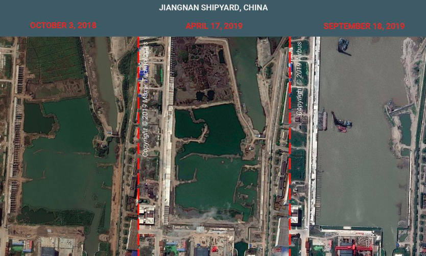 "China Expands Military Power with Aircraft Carrier ""Factory"""