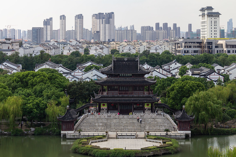 Photo: Panmen Scenic Area, Suzhou, by Stefan Fussan