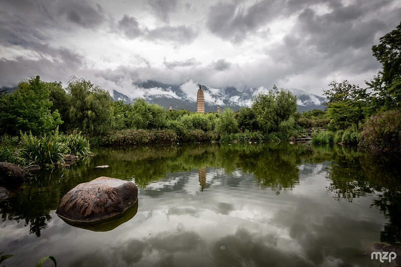 Photo: Three Pagodas Temple, by mzagerp