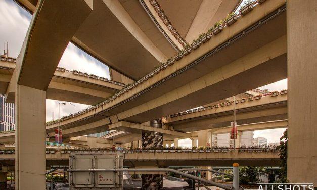 Photo: Puxi Viaduct, Shanghai, by Marek