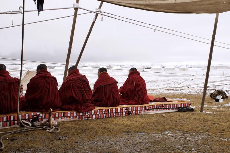 Photo: Tibetan monks, by Hergus1