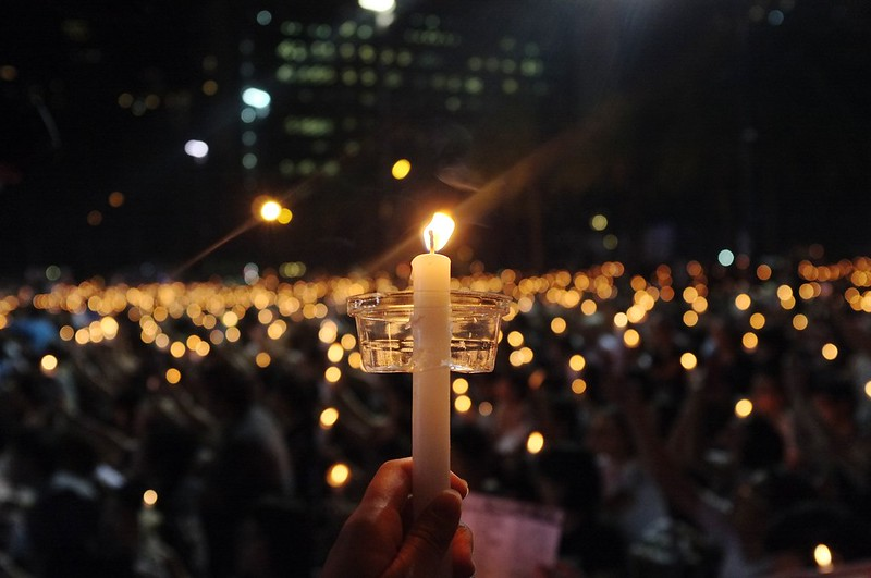 Photo: Hong Kong Tiananmen 25th Anniversary Vigil (2014), by melanie_ko