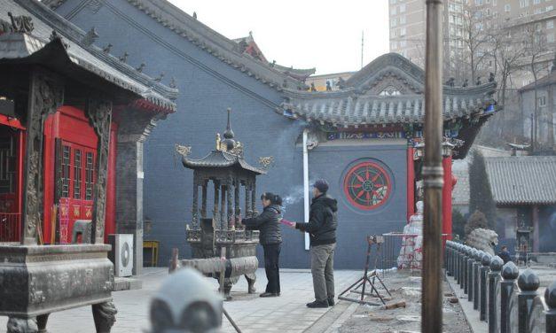 Photo: Baoguang Temple in Dandong, by Max-Leonhard von Schaper