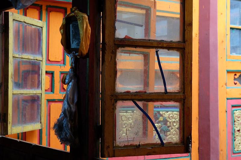Photo: Monastery window, Western Sichuan, by Hergus1