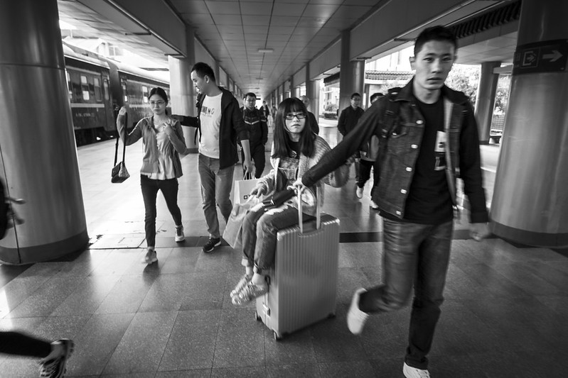Photo: Platform, Xi'an Station, by vhines200