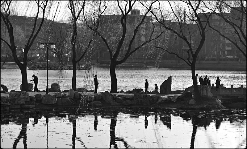 Photo: City Park, Beijing, by Alexander C. Kafka