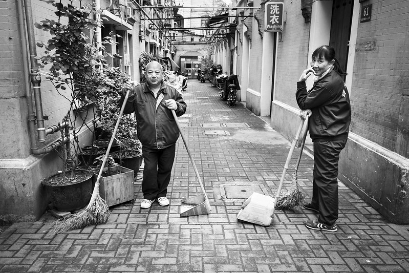 Photo: Cleaning Crew, Shanghai, by vhines200