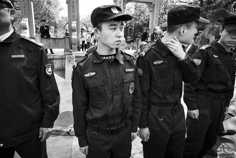 Photo: Security Force, Xi'an, by vhines200