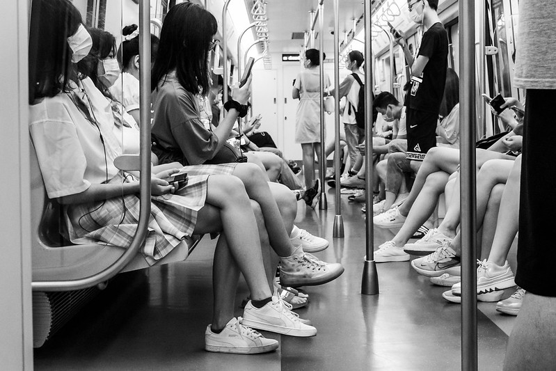 Photo: It's Just a Matter of Legs, by Gauthier DELECROIX – 郭天