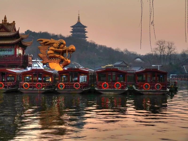 Photo: Dragon at West Lake (Hangzhou), by joiseyshowaa