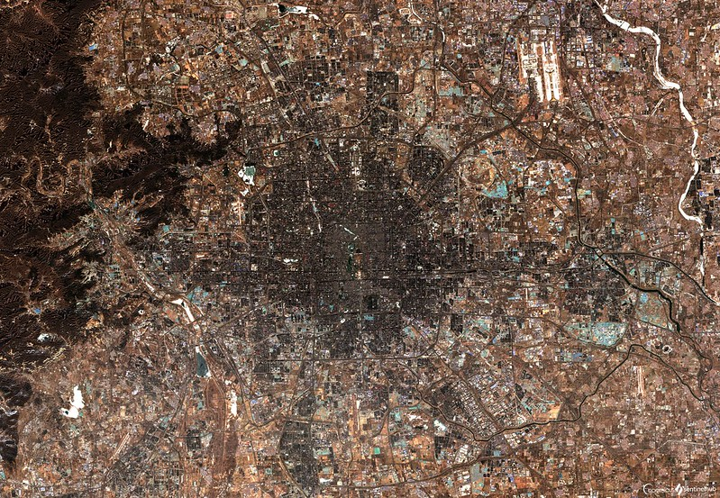Photo: Beijing, China, by Sentinel Hub