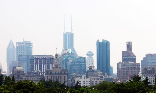 Photo: Shanghai-Puxi from Pudong, by RykJ